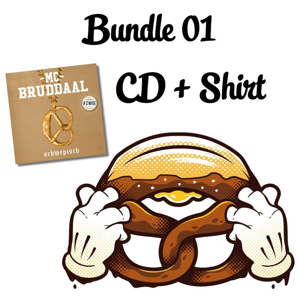 Bundle: CD + Budder Brezel Shirt